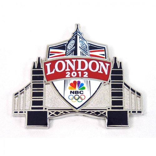 2012 Olympics NBC London Tower Bridge Pin