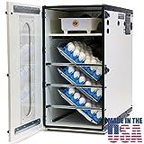 Incubator GQF 1500 American Made Professional Cabinet Incubator + 6pk Quail Egg Trays (Tamaño: With 6 Quail Trays)