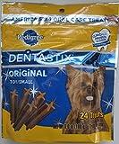 Pedigree Dentastix 24 Mini Treats Small/Toy Dogs (Pack of 2) 6oz