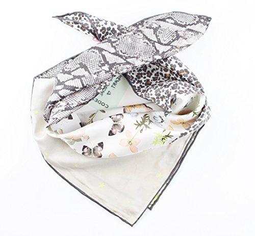 CODELLO 61012005-Scialle Donna    grigio chiaro Taglia unica