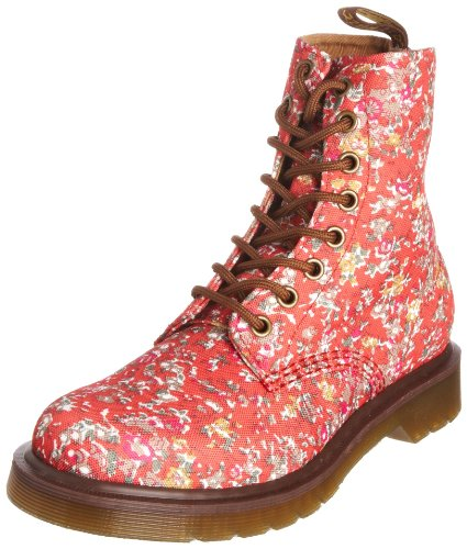 Dr Martens Women's Page Coral Meadow Ankle Boot 13853801 4 UK