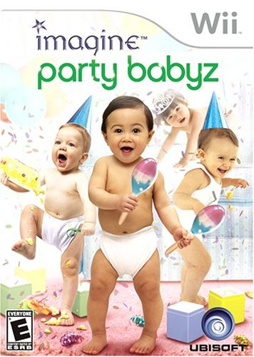 Imagine Party Babyz - Nintendo Wii front-1057630