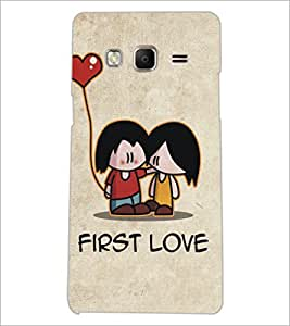 PrintDhaba Love D-5338 Back Case Cover for SAMSUNG Z3 (Multi-Coloured)