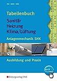 Tabellenbuch Sanitär, Heizung, Lüftung. Anlagentechnik SHK...