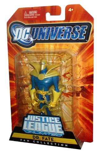 Buy Low Price Mattel DC Universe Justice League Unlimited Fan Collection 5 Inch Tall Action Figure – Dr. Fate (B002JZM4IK)