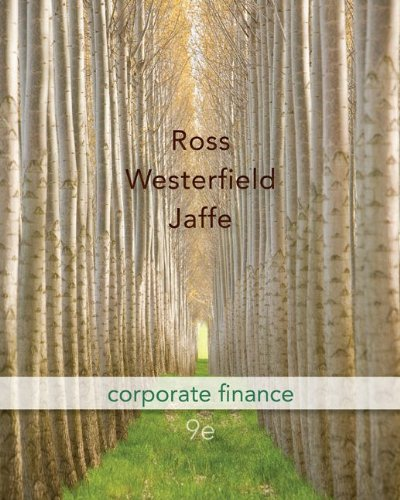 Corporate Finance 9th Edition (McGraw-Hill/Irwin Series...