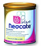 Neocate Infant Formula Powder with DHA and ARA for Infant Develop - 14 Oz / Pack 4 / Case (4 X 400GMS) Kids, Infant, Child, Baby Products