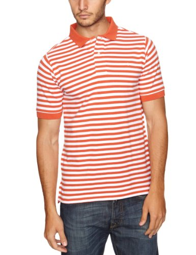 Dockers - Polo, uomo, Arancione (Mecca Orange), M