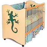 Room Magic 4 Piece Crib Set, Little Lizards