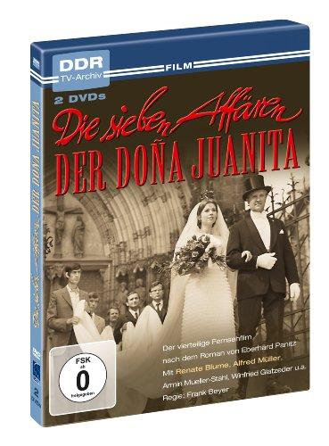 Die sieben Affären der Dona Juanita - DDR TV-Archiv ( 2 DVDs )