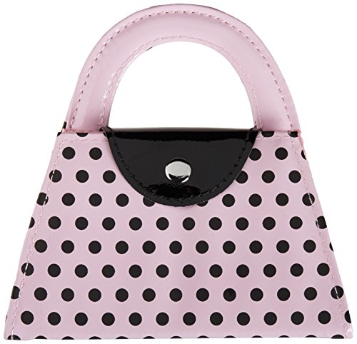 Kate Aspen Pink Polka Purse Manicure Set, Pink