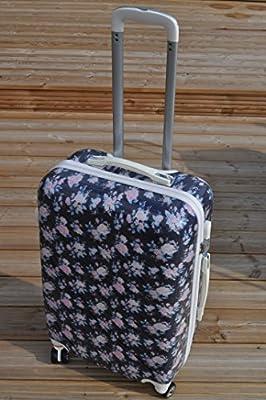Vintage Rose Navy Blue Hand Luggage 21 Cabin Hand Bag