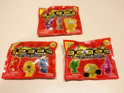 GoGo's Crazy Bones - Series 1 Complete Set - (3 Packs of 3 Pieces) - 1