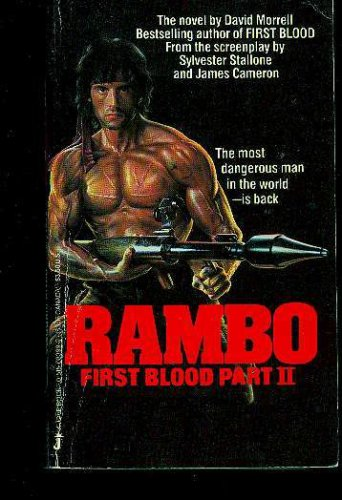 Rambo: First Blood Part II, David Morrell, Sylvester Stallone, James Cameron, Kevin Jarre