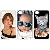 Personalized iPhone 4 4s Custom Personal Picture Hard Case