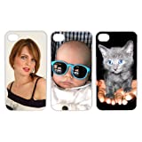 Personalized iPhone 4 4s Custom Personal Picture Hard Case ~ MP
