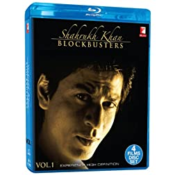 Shahrukh Khan BLOCKBUSTERS ... Darr/ Dilwale Dulhania Le Jayenge/ Dil To Pagal Hai/ Mohabbatein - Blu Ray (Hindi Film / Bollywood Movie / Indian Cinema) 2013 [Blu-ray]