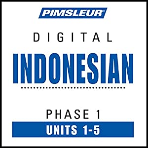Indonesian Phase 1, Unit 01-05 Audiobook
