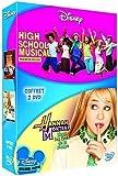 echange, troc High School Musical : Premiers pas sur scène + Hannah Montana - Sous les feux de la rampe