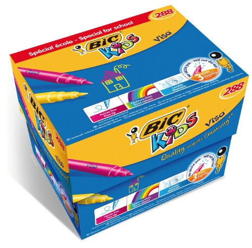 bic-kids-visa-colouring-pens-class-pack-of-288
