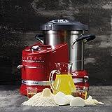 KITCHENAID 5KCF0103EER/4 Artisan Küchenmaschine mit Kochfunktion Empirerot 1500 Watt -