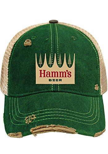 Hamm's Brewing Company Retro Brand Green Vintage Mesh Beer Adjustable Hat Cap (Beer Company Hat compare prices)