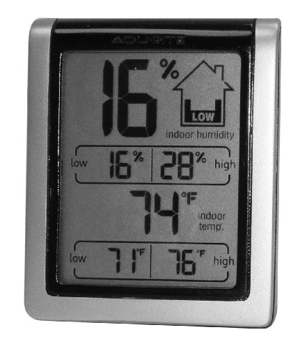 Chaney Indoor Thermometer and Humidity Gauge