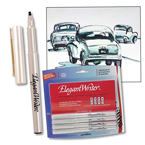 Speedball elegant writer 4 calligraphy marker Elegant writer calligraphy pens