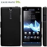 Case-Mate docomo Xperia NX SO-02D Safe Skin Emerge Smooth, Blackセーフスキン エマージ・スムース TPUケース, ブラック CM020257
