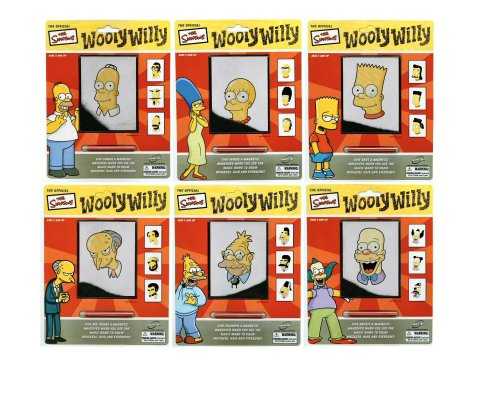 Simpsons Wooly Willy - Mr Burns - Buy Simpsons Wooly Willy - Mr Burns - Purchase Simpsons Wooly Willy - Mr Burns (Sababa Toys, Toys & Games,Categories,Activities & Amusements,Drawing Tablet Toys)