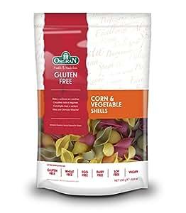 Orgran Corn & Vegetable Pasta Shells Gluten Free -- 8.8 oz