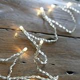 Guirlande Lumineuse à Piles avec 10 LED Blanc Chaud de Lights4fun