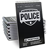 "POLICE Notebook | Pocket Sized | 3-3/4""x6"" 