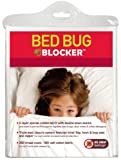 Bed Bug Blocker Queen 100-Percent Cotton Zip Mattress Protector