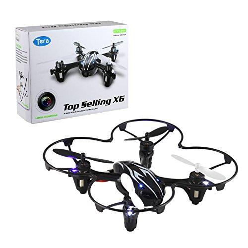 Tera Elicottero Mini RC Quadricottero UFO drone Radiocomandato 2,4G 4 canali con...