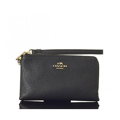 coach-double-corner-zip-wallet-black-one