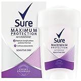 Sure Women Maximum Protection Sensitive Dry Antiperspirant Deodorant Cream - 45 ml