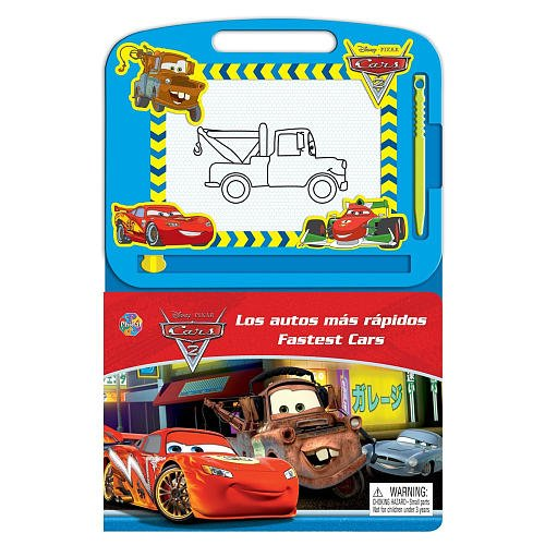Disney Pixar Cars 2 Bi-Lingual Book