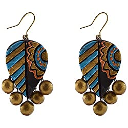 Avarna Terracotta Earrings Erb0001 For Women (Multi-Color )