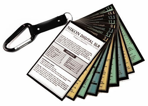 Nikon DSLR Photography Tip Cards Cheat Sheets for D3300 D3200 D3100 D5500 D5300 D5200 D5100 D7200 D7100 D7000 Nikon D810 D800 D610 D600 D750 D700 D3