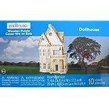 Creatology Wooden Puzzle: Dollhouse 3-D Wood Puzzle