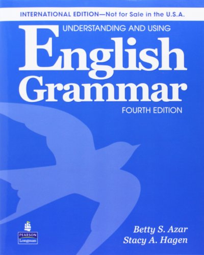 Understanding and Using English Grammar. Sudents Book
