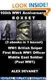 WW1: Action & Adventure Boxset. 1) Arnold Crabtree:British Sniper. 2) Walter Tull:First (British-Born) Black Officer & Famous Footballer. 3) Post WW1: ... Military Crime: WW1 Series. Book 4)