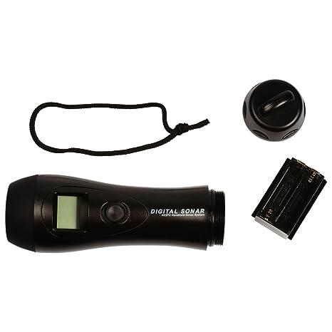 Sondeur de profondeur NORCROSS portable avec capteur intégré, Longueur mm: 178x50x50