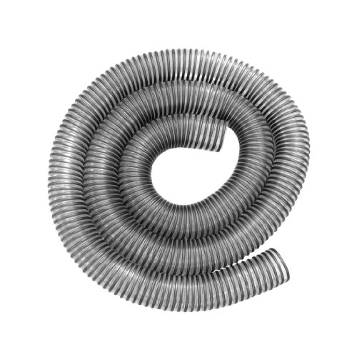 Hi-Tech Duravent 11283 2-Inch By 10-Feet Clear Pvc Dust Hose With Black Plastic Helix front-616931