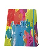 Paper Source 2016/17 17-Month Hidden Spiral Agenda Daily Planner - Colorful