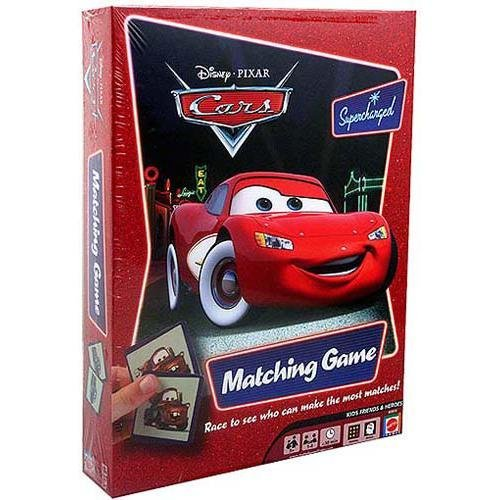 Mattel M3910 Disney Pixar Cars Supercharged Matching Game