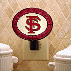 Florida State Seminoles Memory Company Art Glass Night Light NCAA College Athletics Fan Shop Sports Team Merchandise