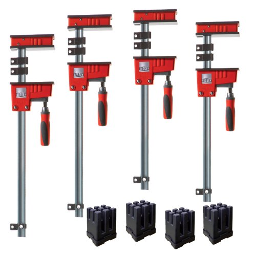 Bessey Krk2450 K Body Revo Fixed Jaw Parallel Clamp Kit Includes 2