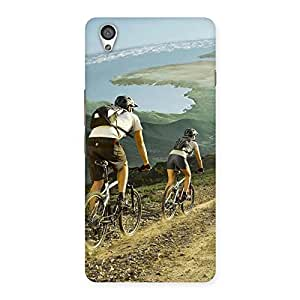 Delighted Bycycle View Back Case Cover for OnePlus X